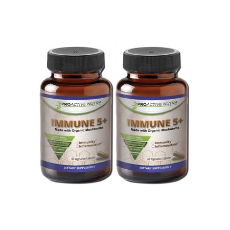 Immune 5+ Organic Mushroom Blend Buy 2 and Save