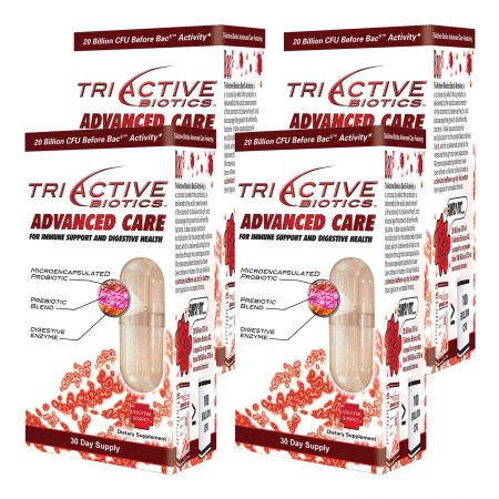 TriActive Advanced Care Probiotic Buy 4 and Save