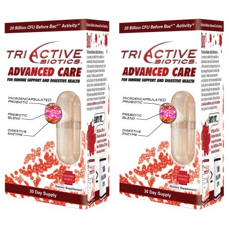 TriActive Advanced Care Probiotic Buy 2 and Save