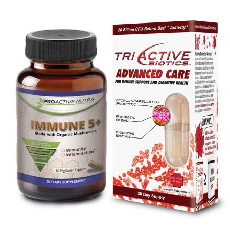 TriActive Probiotic IMMUNE5 combo pak